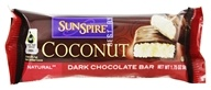 SunSpire - Coconut Premium Dark Chocolate Bar - 1.7 oz. by SunSpire
