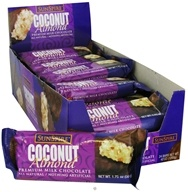 SunSpire - Coconut Premium Milk Chocolate Almond Bar - 1.75 oz. by SunSpire