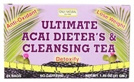 Only Natural - Ultimate Acai Dieter's & Cleansing Tea - 24 Tea Bags