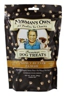 Newman's Own Organics - Dog Treats Medium Size Peanut Butter Flavor - 10 oz. by Newman's Own Organics