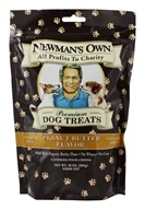 Newman's Own Organics - Dog Treats Medium Size Peanut Butter Flavor - 10 oz. (757645613101)