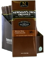 Newman's Own Organics - Chocolate Bar 34% Mocha Milk - 3.25 oz.