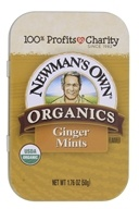 Newman's Own Organics - Mints Tin Organics Ginger - 1.76 oz. by Newman's Own Organics