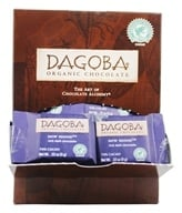 Dagoba Organic Chocolate - Tasting Squares Dark Chocolate New Moon 74% Cacao - 0.32 oz. (810474002093)