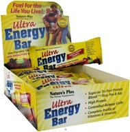Nature's Plus - Ultra Energy Bar With Whole Food Antioxidants Exotic Berry Crunch - 2.1 oz., from category: Sports Nutrition