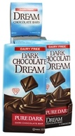 Dream - Dark Chocolate Bar Pure Dark - 3 oz. by Dream