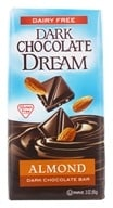 Dream - Dark Chocolate Bar Almond - 3 oz. by Dream
