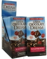Dream - Dark Chocolate Bar Raspberry - 3 oz. by Dream