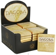Image of Dagoba Organic Chocolate - Tasting Squares Milk Chocolate Milk 37% Cacao - 0.32 oz.