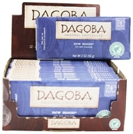 Dagoba Organic Chocolate - Bar Dark Chocolate New Moon 74% Cacao - 2 oz. by Dagoba Organic Chocolate