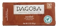 Dagoba Organic Chocolate - Bar Dark Chocolate Xocolatl 74% Cacao - 2 oz.