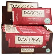 Dagoba Organic Chocolate - Bar Dark Chocolate Beaucoup Berries 74% Cacao - 2 oz.