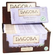 Dagoba Organic Chocolate - Bar Dark Chocolate Lavender Blueberry 59% Cacao - 2 oz.