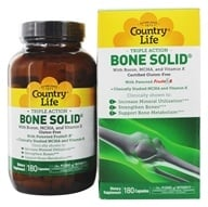 Country Life - Bone Solid - 180 Capsules - $17.99