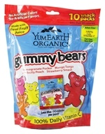 Yummy Earth - Organic Gummy Bears Family Size - 10 Pack(s)