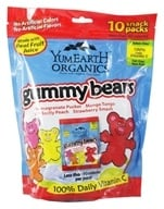 Yummy Earth - Organic Gummy Bears Family Size - 10 Pack(s) by Yummy Earth