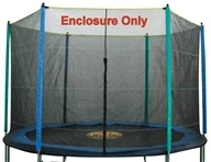 Pure Fun Trampolines - Enclosure and Safety Net for Trampoline 9112E - 12 ft. by Pure Fun Trampolines