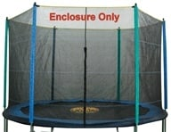Pure Fun Trampolines - Enclosure and Safety Net for Trampoline 9114E - 14 ft. (812461010432)
