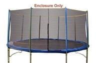 Pure Fun Trampolines - Enclosure and Saftey Net for Trampoline 9115E - 15 ft. by Pure Fun Trampolines