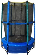 Pure Fun Trampolines - Kid's Trampoline Set with Enclosure and Safety Net 9005TS - 55 in. - $99.24