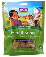 Image of Halo Purely for Pets - Liv-A-Littles Healthsome Skin & Coat Dog Treats With Dream Coat Wild Salmon - 6 oz.