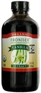Frontier Natural Products - Organic Extract Vanilla - 8 oz.