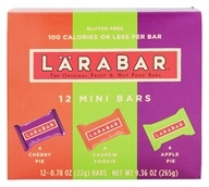 Larabar - Mini Bar Variety Pack - 12 Bars by Larabar