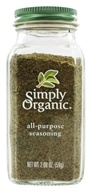 Simply Organic - All Purpose Seasoning - 2.08 oz. (089836185105)