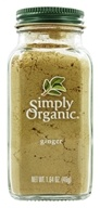Simply Organic - Ginger - 1.64 oz. (089836185181)