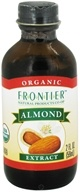 Frontier Natural Products - Organic Extract Almond - 2 oz. CLEARANCE PRICED