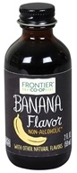 Frontier Natural Products - All-Natural Alcohol-Free Flavor Banana - 2 oz. (089836230119)