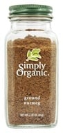 Simply Organic - Ground Nutmeg - 2.3 oz., from category: Health Foods