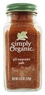 Simply Organic - All Seasons Salt - 4.73 oz. (089836185112)