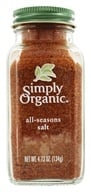 Simply Organic - All Seasons Salt - 4.73 oz.