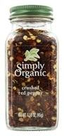 Simply Organic - Crushed Red Pepper - 2.39 oz. (089836186034)