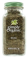 Simply Organic - Thyme - 0.78 oz., from category: Health Foods