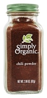 Simply Organic - Chili Powder - 2.89 oz. (089836187604)