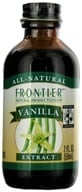 Image of Frontier Natural Products - All-Natural Extract Vanilla - 2 oz.