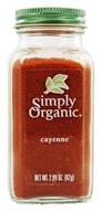Image of Simply Organic - Cayenne - 2.89 oz.