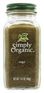 Image of Simply Organic - Sage - 1.41 oz.