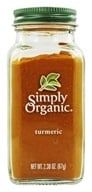 Simply Organic - Turmeric - 2.38 oz., from category: Health Foods