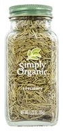 Simply Organic - Rosemary - 1.23 oz. (089836186102)