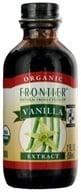 Frontier Natural Products - Organic Extract Vanilla - 2 oz.