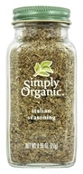Simply Organic - Italian Seasoning - 0.95 oz. (089836186065)