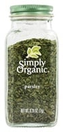 Simply Organic - Parsley - 0.26 oz. (089836185228)