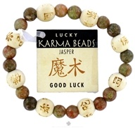 Image of Zorbitz - Karmalogy Lucky Karma Beads Bracelet Jasper Good Luck