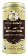 Zhena's Gypsy Tea - Harvest Herb Tea Chocolate Chai Caffeine Free - 22 Tea Bags (652790100721)