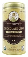 Zhena's Gypsy Tea - Harvest Herb Tea Chocolate Chai Caffeine Free - 22 Tea Bags by Zhena's Gypsy Tea