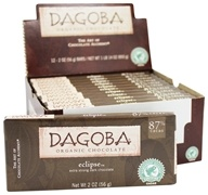 Dagoba Organic Chocolate - Bar Dark Chocolate Extra Strong Eclipse 87% - 2 oz.