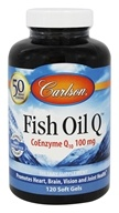 Carlson Labs - Norwegian Fish Oil Q CoEnzyme Q10 100 mg. - 120 Softgels